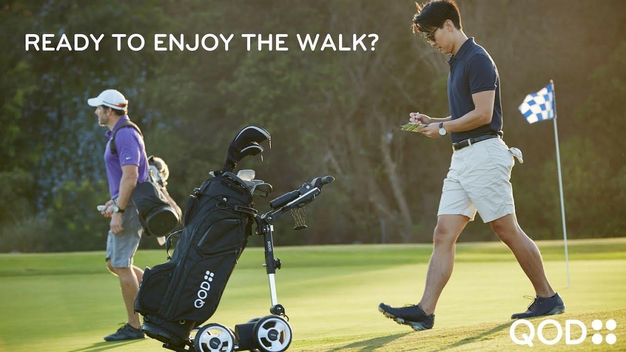 Electric Golf Caddy >> Electric Golf Trolley Usa Motorized Golf Push Cart Best Electric Golf Caddy Qod