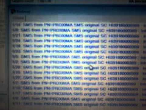 MarketlinkPH PROXIMA SMS In Action (Proximity / Mobile Marketing Service In The Philippines)