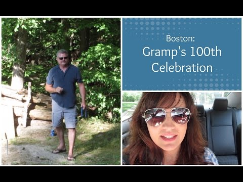 Gramps' 100th Celebration: Family Reunion