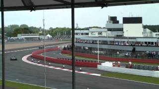 British Grand Prix 2011-Race from Luffield C Grandstand