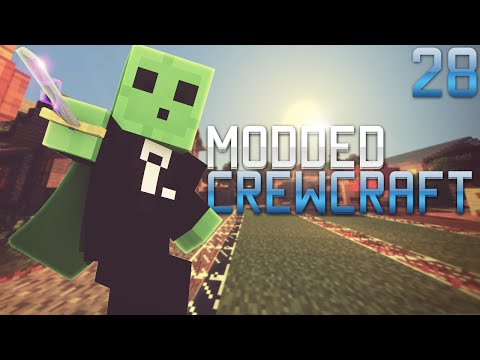 Modded Crewcraft - Charging the Energy Cells (Episode 28)