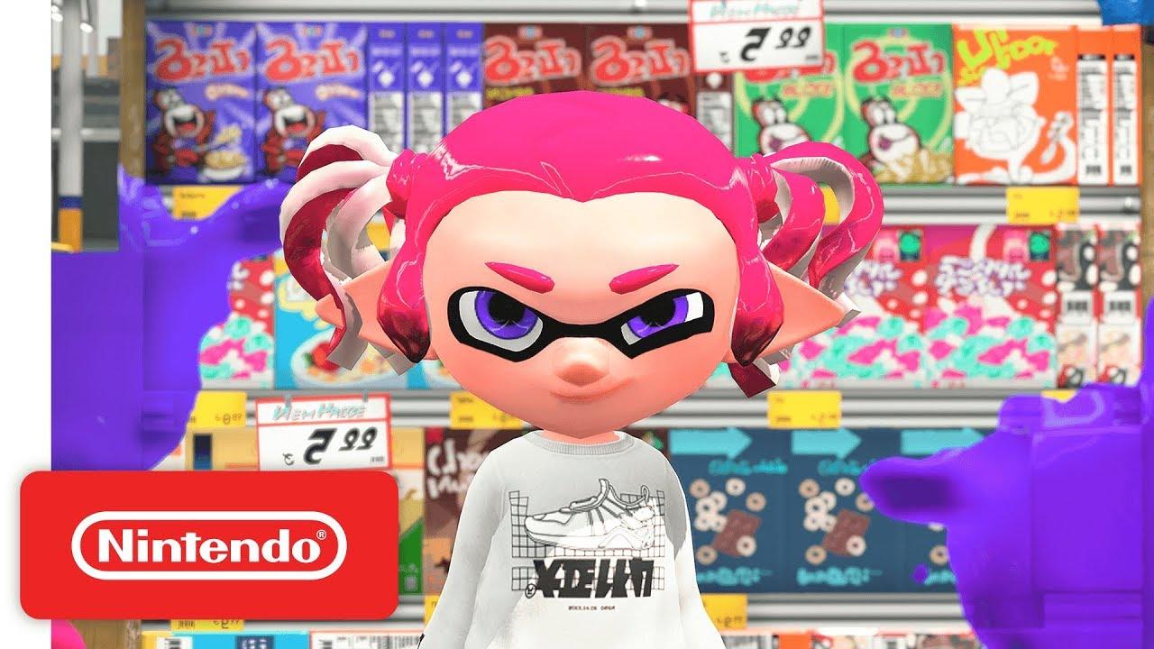 Splatoon 2 - Huge Holiday Updates! - Nintendo Switch - YouTube