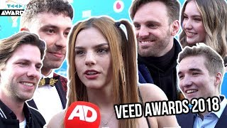 SUCCESVOLLE YOUTUBERS VERTELLEN HUN GEHEIM (VEED Awards 2018 SPECIAL) || AD.nl Video