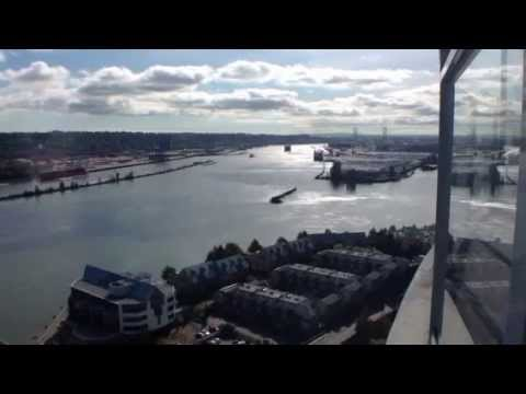 Timelapse of tugboats working on the Fraser River