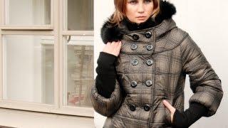 видео куртки с натуральным мехом