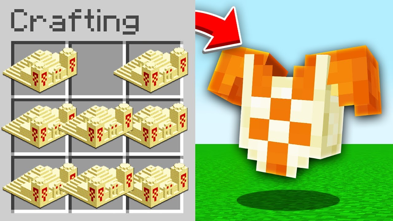 Minecraft, But There's Custom Desert Temple Items...