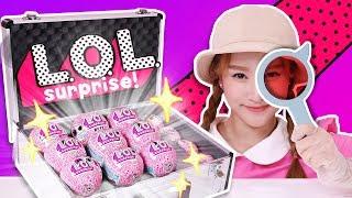 不可思議LOL 驚喜寶貝蛋! !隨機抽迷你係列和寵物系類 抽娃娃玩具eye spy - 基尼