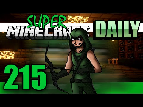 Super Minecraft Daily! - Red as my Power Ring [#215]