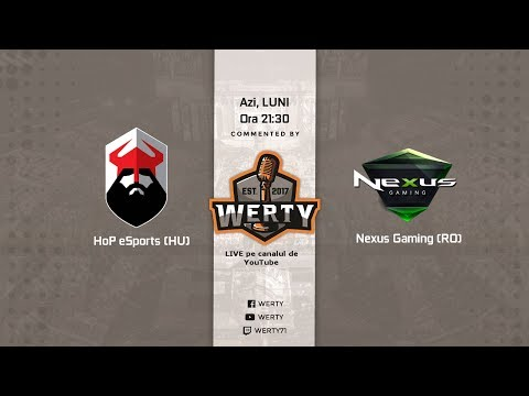 [RO CS:GO] Nexus Gaming (RO) vs. HoP eSports (HU) (Balkan ProLeague Season 2)