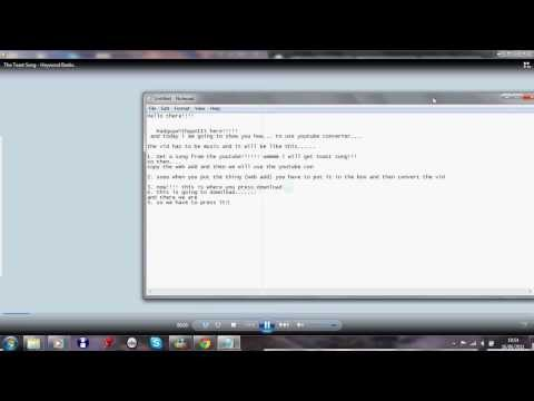 How To Use Youtube Converter!!!! And How To Get Download (windows 7)