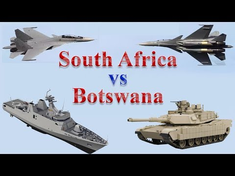 South Africa vs Botswana Military Comparison 2017