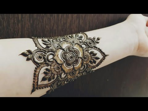 Beautiful henna tattoo for hand 2018  #heenavahid