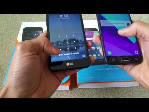 LG Phoenix 3 vs Samsung Galaxy Express Prime 2 Speed Test Full HD 2017