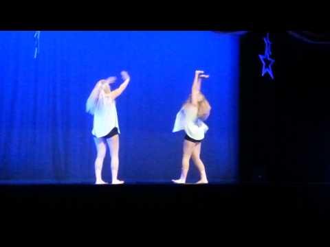 My sister dancing a duet