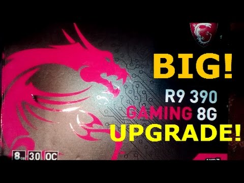 Upgrading my Computer to MSI R9 390 Gaming Video Card | Installation | VR  Ready