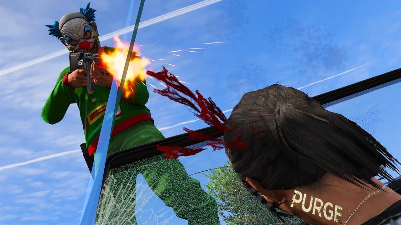 GTA 5 RP : LA PURGE (EPISODE 25)