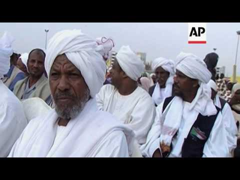 Sudanese pilgrims begin Hajj journey