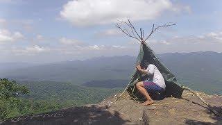 Dangerous shelter on the edge of rock [Full Ep. 2days]
