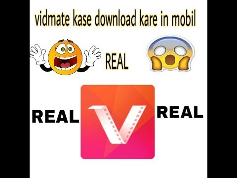 How To Download Vidmate App In Mobile 2018