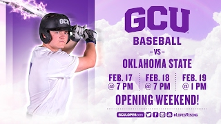 Baseball vs Oklahoma State Feb 20th, 2017