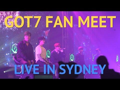 GOT7 Fan Meet live in Sydney
