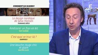 [INTÉGRALE] Comment ça va bien ! 22/01/2016 P2 C.Touzet et C.Vadim #CCVB