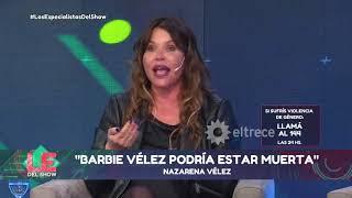 Nazarena Vélez habló de su situación judicial con Fede Bal