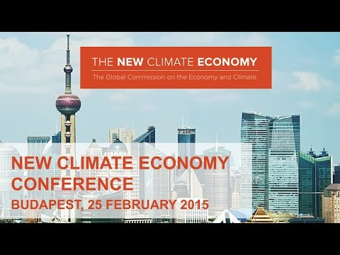 New Climate Economy Conference in Budapest