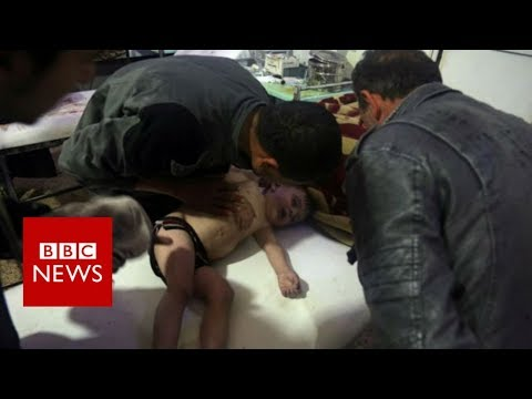 Syria chemical attack: Survivors recount the 2013 Ghouta assault - BBC News