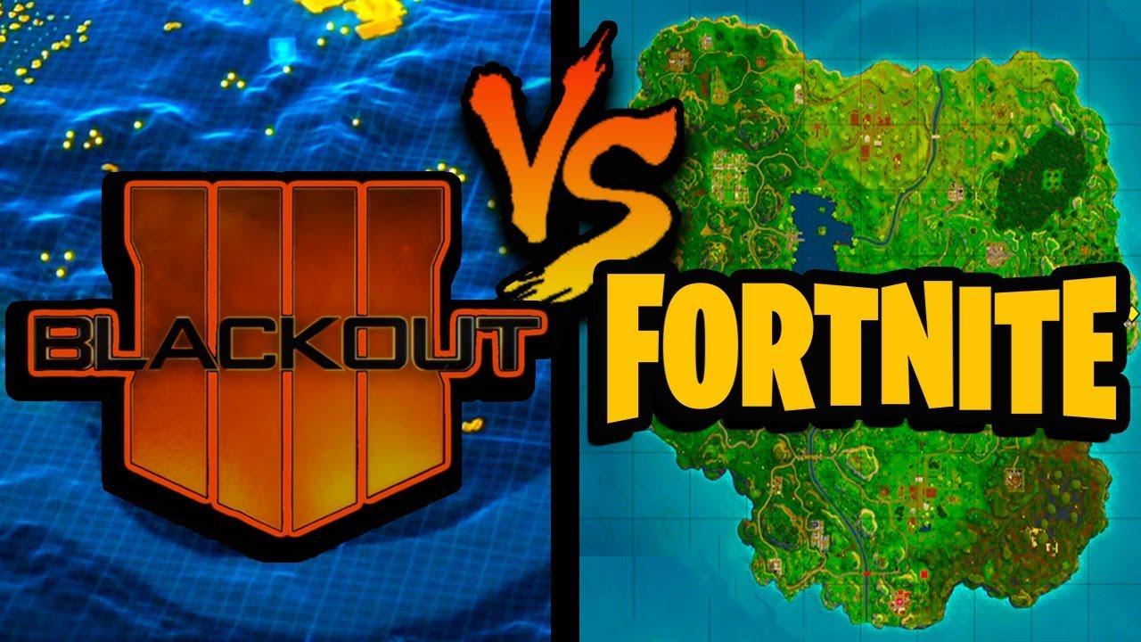 "(ACTUAL MEASUREMENTS) Fortnite Map SIZE VS Blackout Map SIZE ""BO4"""