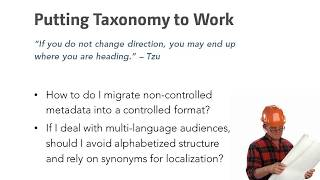 DAM and the Tao of Taxonomy (Digital Asset Management)