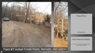 Tract #7 Indian Creek Point, Barnett, MO 65011