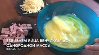 Фриттата с овощами и колбасой в мультиварке