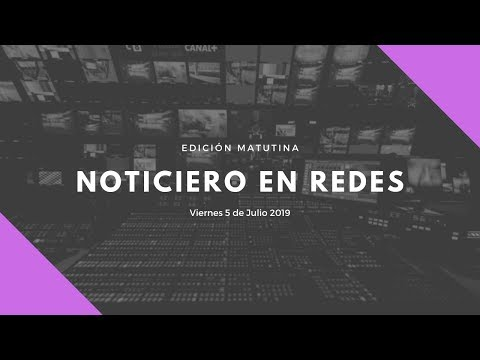Noticiero en Redes Emisión Matutina Jueves 25 de Abril 2019 from YouTube · Duration:  4 hours 52 minutes 3 seconds