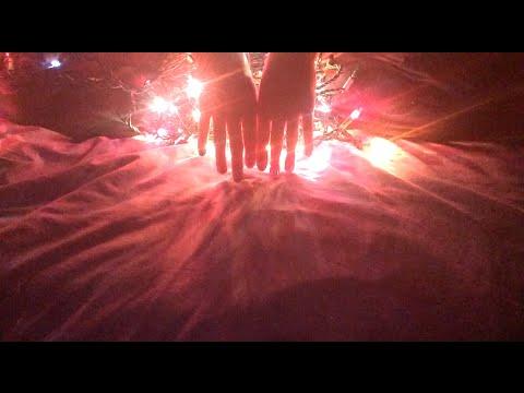 ASMR Christmas Lights and Relaxing Hand Movements *Soft-Spoken Ramble*