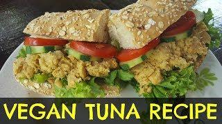 Vegan Chickpea Tuna Salad Sub Recipe