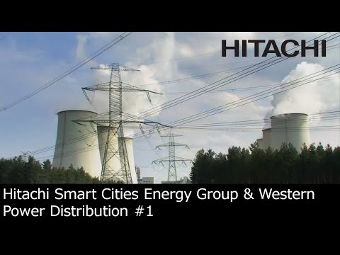 #1 Hitachi Smart Cities Energy Group & Western Power Distribution joint venture (UK) - Hitachi