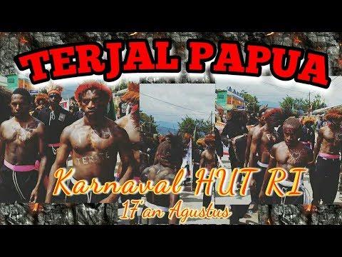 Silat PSHT Papua Sangat Memukau HUT RI 17 Agustus ( TERJAL )
