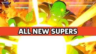 Dragon Ball FighterZ - Every New Character's Supers, Intro, and Win Quote