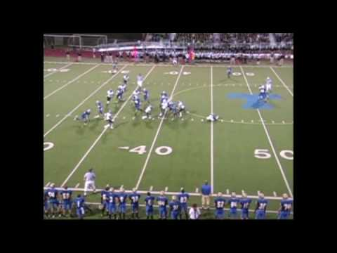 Derek Weston Football  Part 3:  2009 Kentwood vs Tahoma Offense