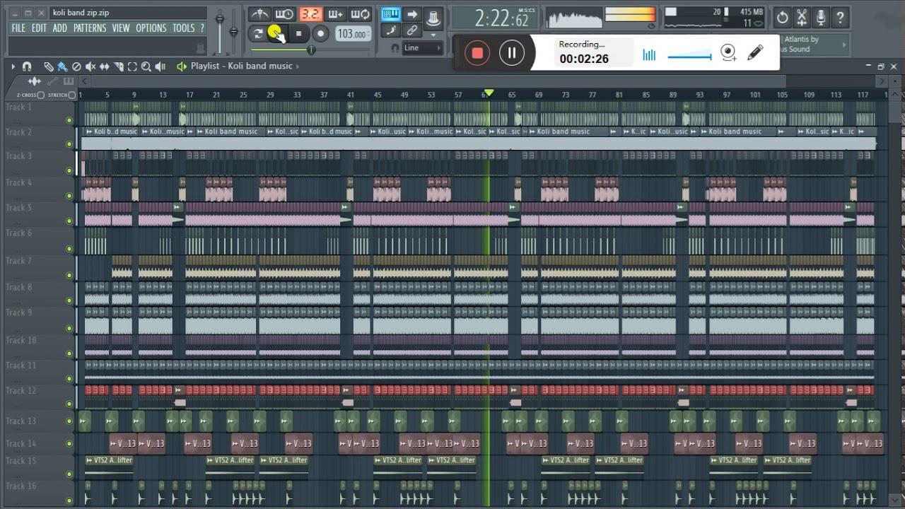 koli band flp preview | fl studio marathi