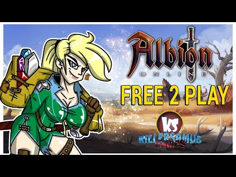 ALBION ONLINE FREE TO PLAY !!! || Killersamus Games