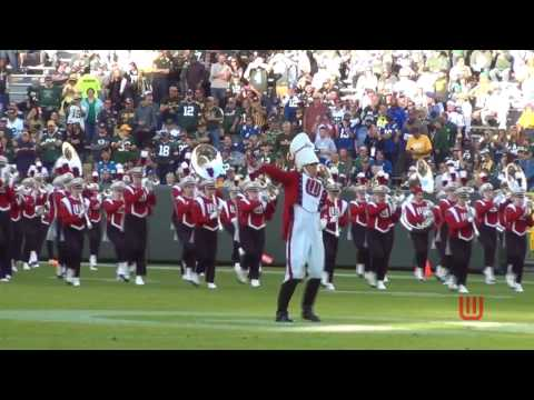 Wisconsin Band at Lambeau Field   Pre-Game  11-6-16