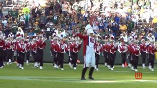 Wisconsin Band at Lambeau Field Pre Game 11 6