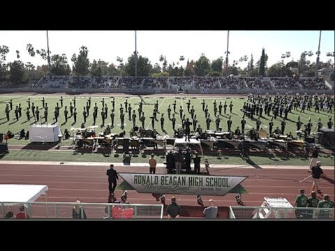 Ronald Reagan HS Marching Band - 2018 Pasadena Bandfest