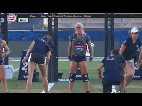CROSSFIT GAMES 2016 - Womens Murph - EVENTO 5