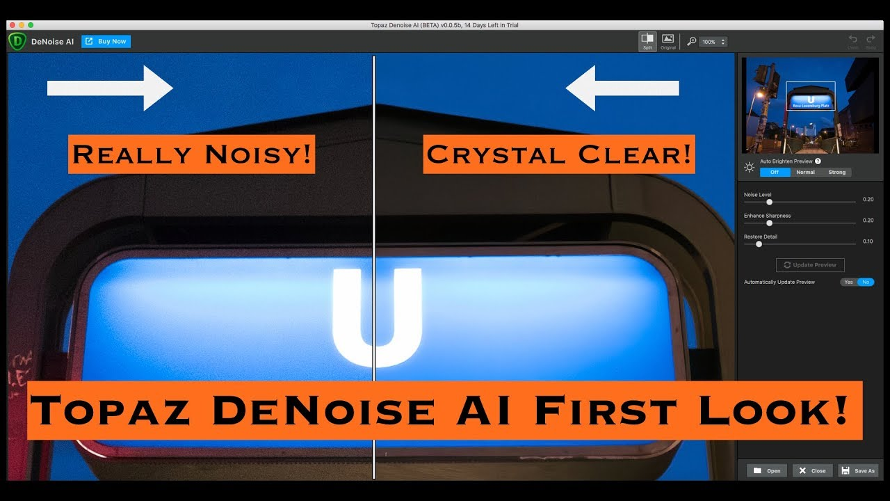 Topaz DeNoise AI: First Look Review!