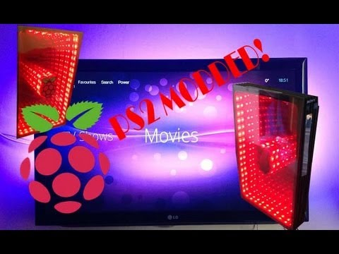 How to make your old Playstation 2 into a HD media player! Using a raspberry pi