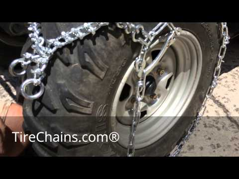 TireChain.com---ATV Diamond Studded Tire Chains