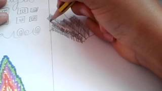 How to draw mayan and aztec patterns